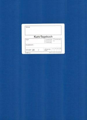 Kurs-Tagebuch für Jahrgangsstufe, DIN A4
